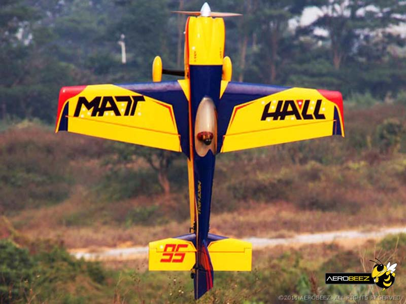 Soaring Eagle MXS-R 50CC 89''/2260mm RC Airplane With Carbon Fiber Parts Blue AC