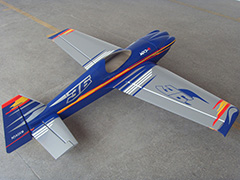 Soaring Eagle MXS-R 50CC 89''/2260mm RC Airplane With Carbon Fiber Parts Silver C