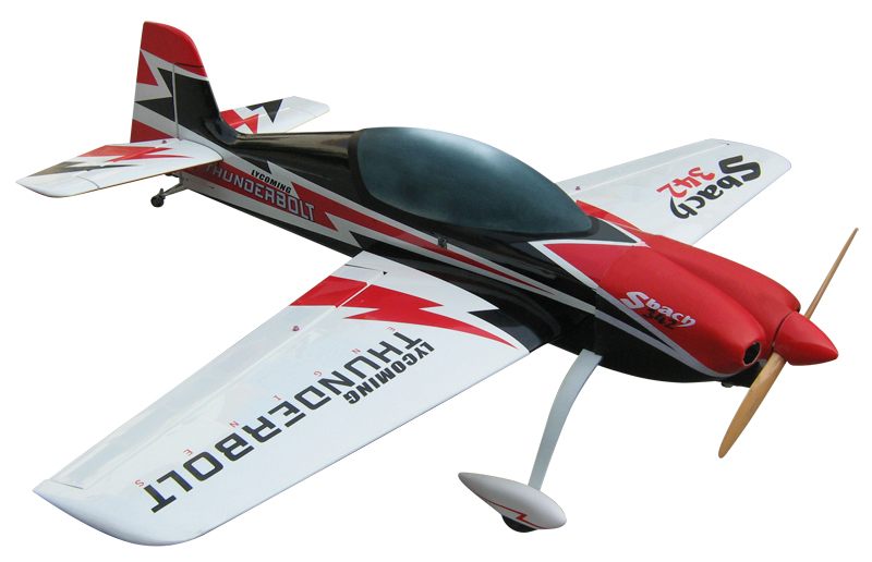 SBach 342 50CC 87'' Carbon Fiber Thunderbolt RC Airplane