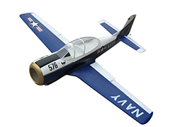 Soaring Eagle T-28 Trojan 45CC 80'' Fiber Glass RC Airplane Blue B