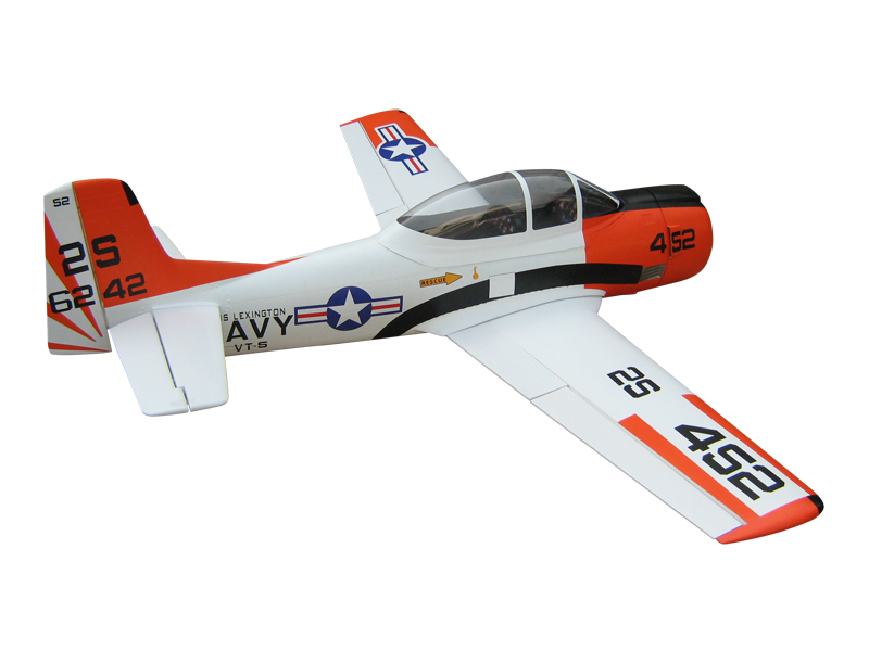 Soaring Eagle T-28 Trojan 45CC 80'' Fiber Glass RC Airplane White A