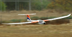 Dynam Sonic 185 Electric Brushless RC Glider 73'' PNP