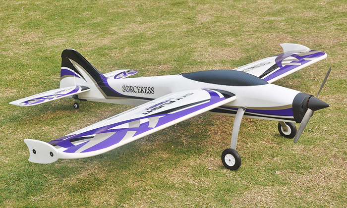 LX Sorceress 1400mm/55'' Electric RC Plane Kit Version