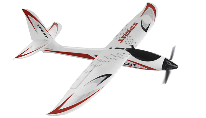 Freewing Spirit 815mm Sport Glider EPO Electric RC Plane Kit Version