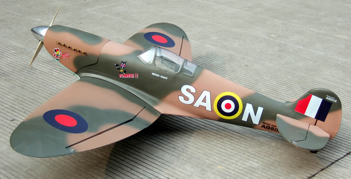 Spitfire 120 73'' Nitro Gas RC Airplane ARF