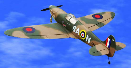 Spitfire 120 73'' RC Plane New