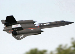 LX SR71 Blackbird Dual 64mm EDF Jet With Retracts RTF Ready-To-Fly