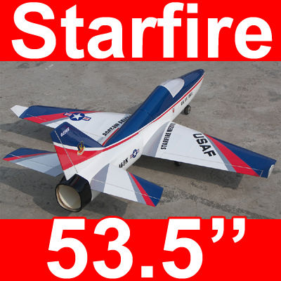 Starfire 53'' Electric Ducted Fan RC Jet Airplane ARF