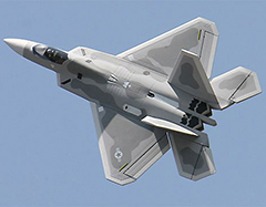 F-22 Raptor 2.4G 64mm EDF Electric RC Jet Airplane Plane 100% Ready-to-Fly Grey