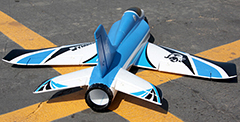 Freewing Stinger-64 64mm EDF Electric RC Jet Blue Kit Version