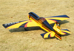 ARFMFG Sukhoi Su-26 50 3D 56'' RC Airplane A Yellow ARF