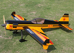 Goldwing ARF-Brand Sukhoi SU-26 30CC V2 Aerobatic RC Plane with Kuza Fuel Tank