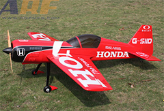 Goldwing ARF-Brand Su-26 50CC 88'' Carbon RC Airplane Red