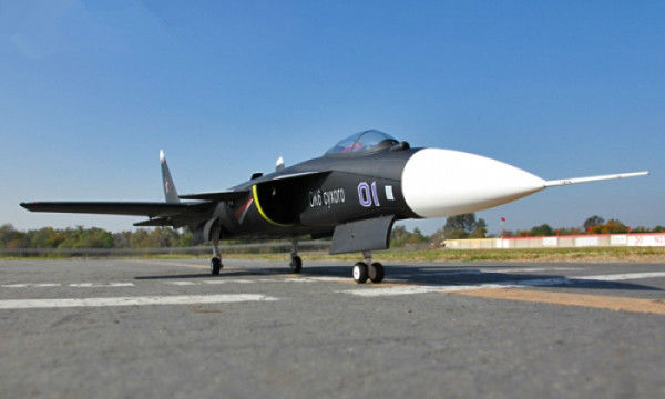 LX SU-47 Berkut Twin 70mm EDF 360 Degree RC Jet With Retracts Kit Version