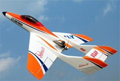 Super Falcon 120 63'' Pusher Jet RC Airplane ARF White