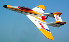"Falcon 25 -39.4"" Winspan Fuel/Electric RC Jet ARF"
