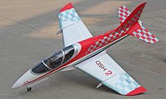 HSD Super Viper 105mm Bypass EDF 1500mm Wingspan RC Jet Kit V2 Placaid
