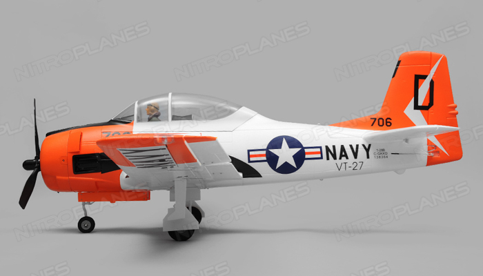 T-28 1450mm Warbird Electric RC Airplane Plane Radio Controlled PNP Installed With Motor/ESC/Servos/Propeller/Retracts