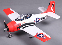 T28 Trojan A-202 Warbird 800mm Wingspan EPO Electric RC Plane PNP Version with Motor ESC Servo