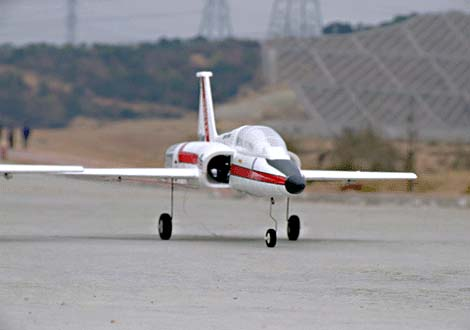 T-38 Thunderbird Electric 64mm EDF RC Jet Airplane Plane Ready-to-Fly
