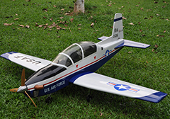 Unique Models T-6 Texan II 1200mm Electric RC Plane PNP