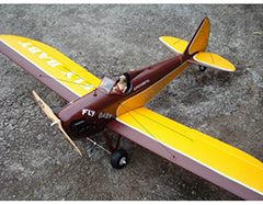 Taft Hobby Fly Baby Scale Airplane EPO 1400mm PNP Yellow