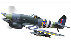 Dynam Hawker Tempest 1250mm Electric RC Plane PNP