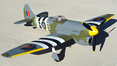 Dynam Hawker Tempest 1250mm Electric RC Plane Ready-To-Fly