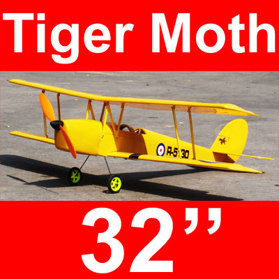 Tiger Moth Electric RC Airplane 32'' ARF