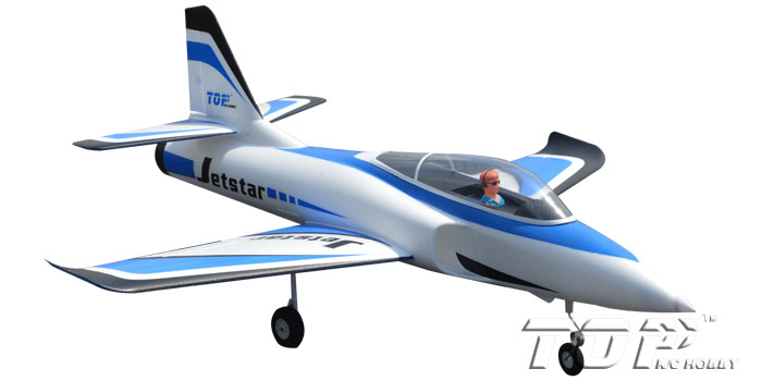 TopRC Jet Star 800mm Wingspan RC Jet PNP Blue