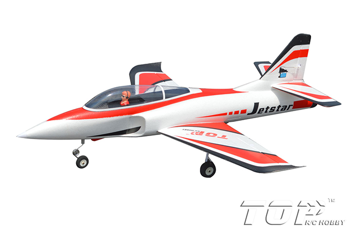 TopRC Jet Star 800mm Wingspan RC Jet PNP Red