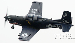 TopRC T-34 Mentor 750mm Wingspan RC Plan PNP Blue