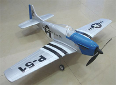 P-51 Mustang TW-748-2 Electric Remote Control Ready-to-Fly RC Airplane