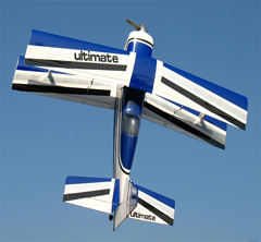 Ultimate .46 42'' Nitro RC BiPlane Airplane ARF Blue