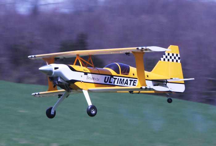 Ultimate 50CC 71'' Nitro RC Airplane ARF Yellow