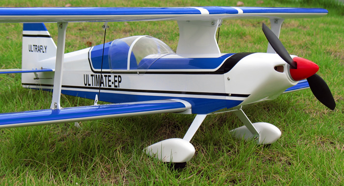 Ultimate Bipe Electric RC Airplane 30'' ARF Blue