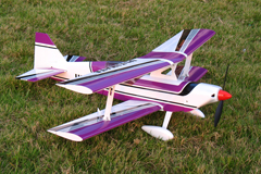 Ultimate Bipe Electric RC Airplane 30'' ARF Purple