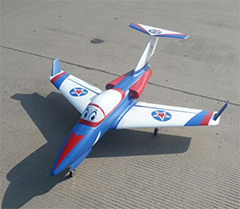 Taft-Hobby Valkyrie 90mm EDF RC Jet PNP Version White/Blue