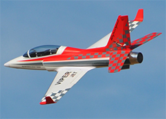Taft-Hobby ViperJet 90mm EDF RC Jet Kit Version Red