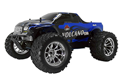 Volcano S30 1/10 Scale Nitro Monster Truck 2.4GHz Blue