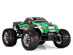 Volcano S30 1/10 Scale Nitro Monster Truck 2.4GHz Green