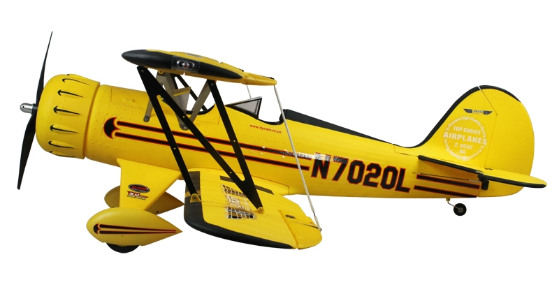 Dynam WACO (YNF-5D) 1270mm 4ch EPO RC Electric Plane PNP