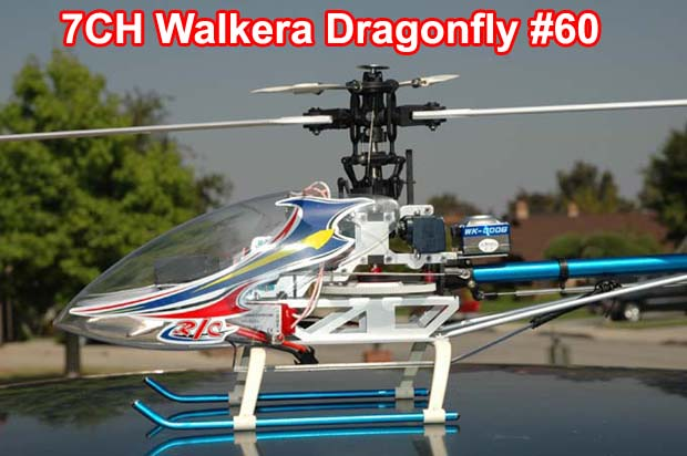 WALKERA DRAGONFLY 60 RC HELICOPTER 7-CH RTF