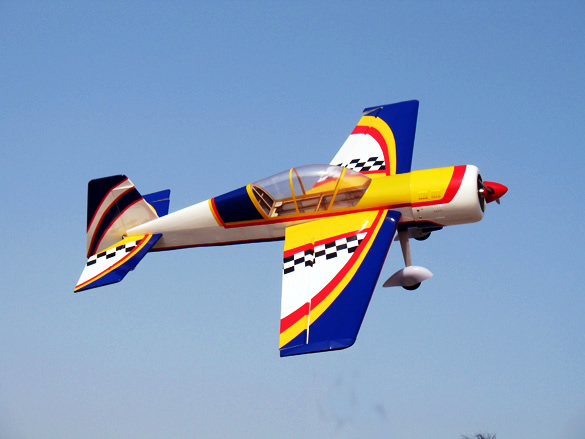 Yak 54 45.5'' Nitro/Electric RC Airplane Blue