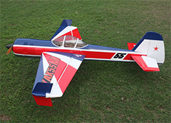 Goldwing ARF-Brand Yak 55M 30CC V2 Aerobatic Carbon Fiber RC Plane with Kuza Fuel Tank D
