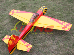 Goldwing ARF Yak 55M 50E 57'' Electric/Nitro Aerobatic 3D RC Airplane Red B