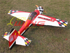 Goldwing ARF Yak 55M 50E 57'' Electric/Nitro Aerobatic 3D RC Airplane White C
