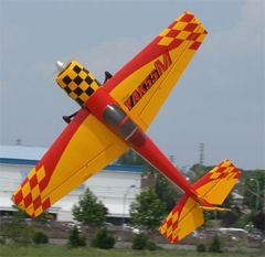 Goldwing Yak 55M V3 88'' 50CC Gas Aerobatic RC Airplane Version 3 Red B