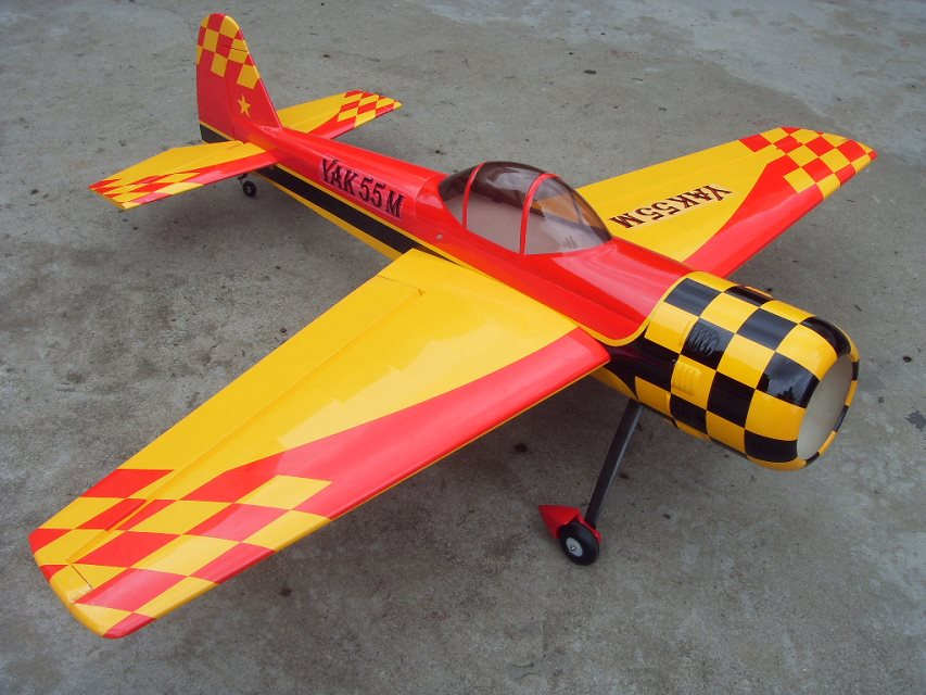 Skyway Yak 55M 50CC 89'' Carbon Aerobatic RC Airplane Red