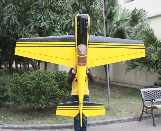 ARFMFG Yak 55SP 50CC 87'' Aerobatic RC Airplane Yellow A